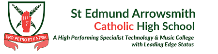 st edmunds school logo